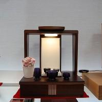 2. ウォールナット 手元供養仏壇