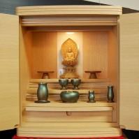 5. ナラ材上置き型仏壇