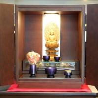 8. ウォールナット上置き型仏壇