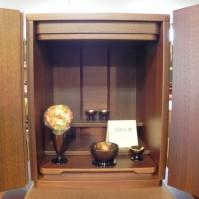 28.ウォールナットの小さなお仏壇