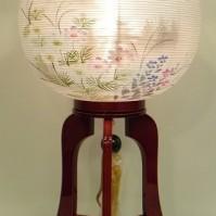 紅溜塗高蒔絵・木製・絹二重張(品番15)