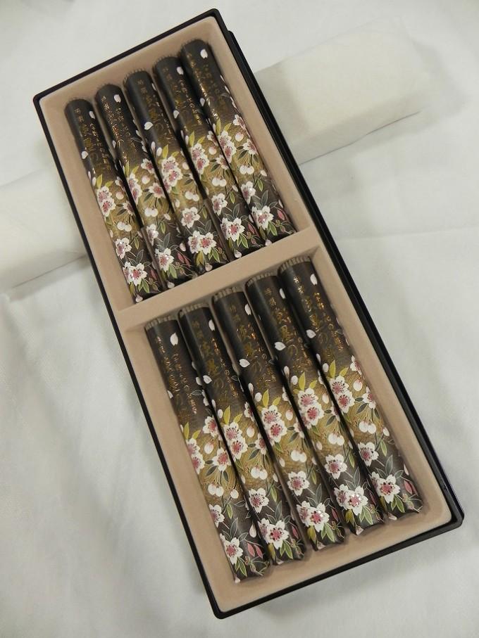進物用 「特撰 淡墨の桜」短寸10把入